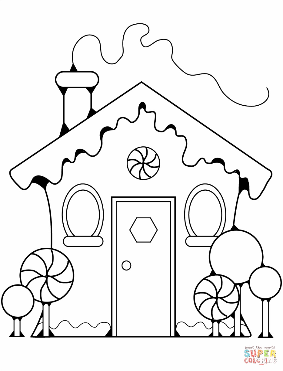 gingerbread house coloring page 1 ayirr