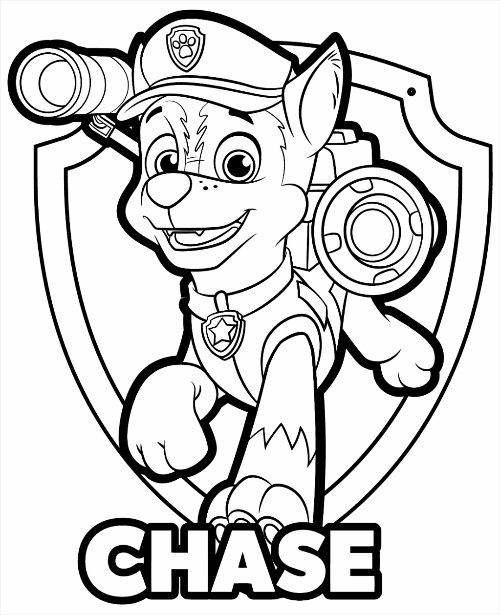c e069f1f dd2a65cc61ae8d coloring pages paw patrol chase badge page super and skye to print 1100 1340 rumue