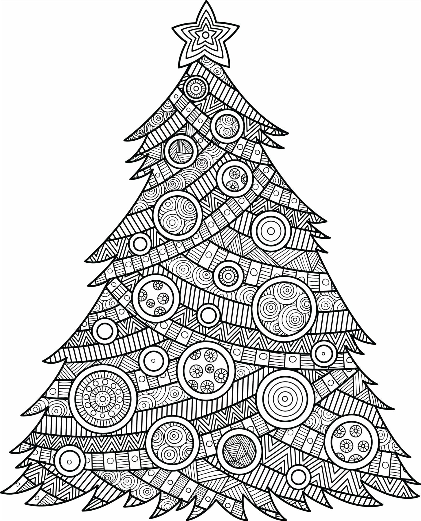 kerstboom kleurplaat kleurplaten234