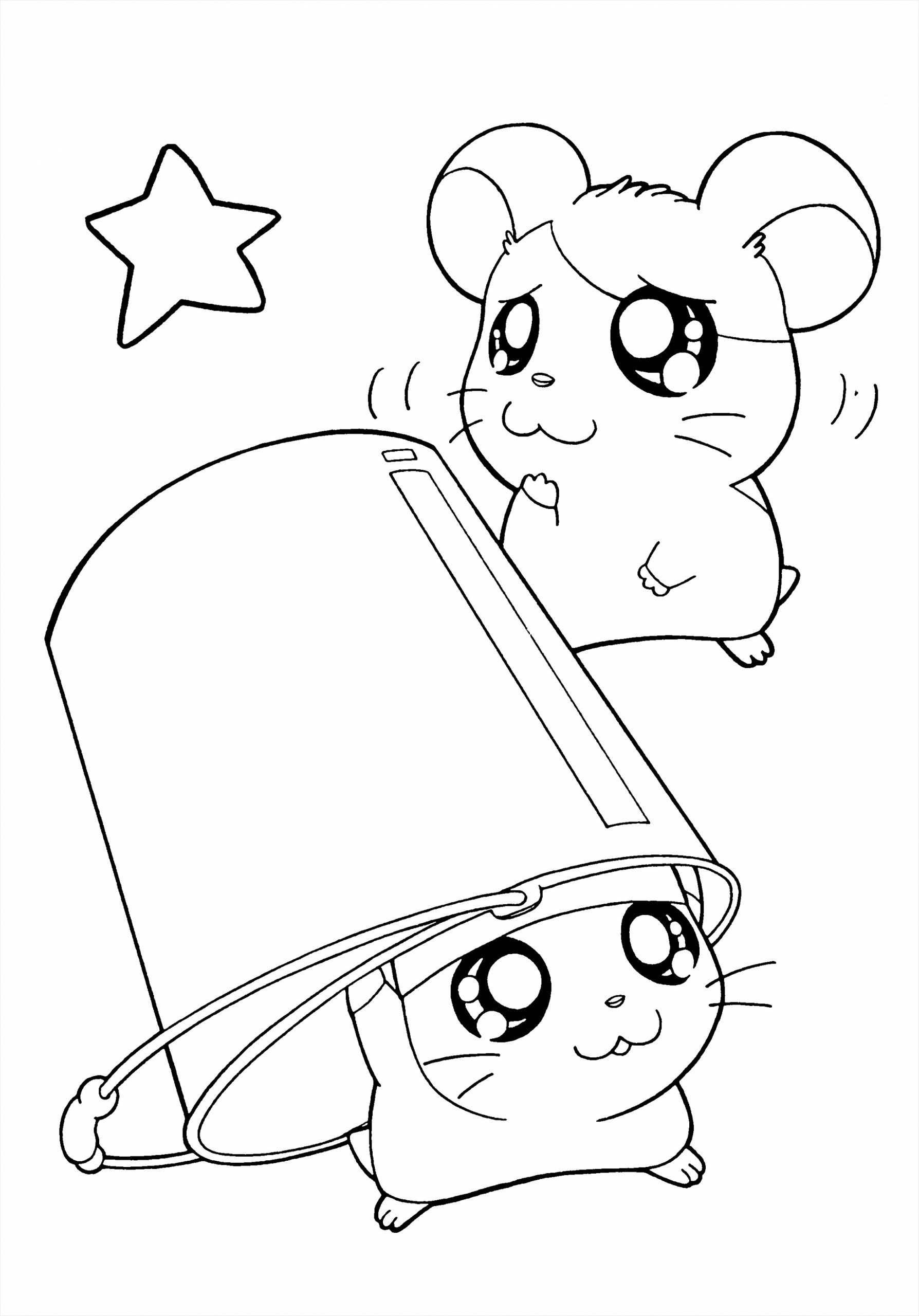 hamtaro coloring pages 148 tyhou
