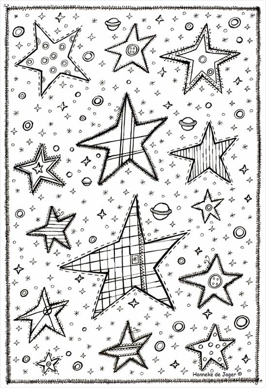 Downloadpagina Hanneke de Jager kleurplaat kerststal, source:hannekedejager.com