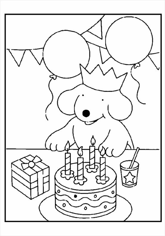 kleurplaat verjaardag 14 aulee