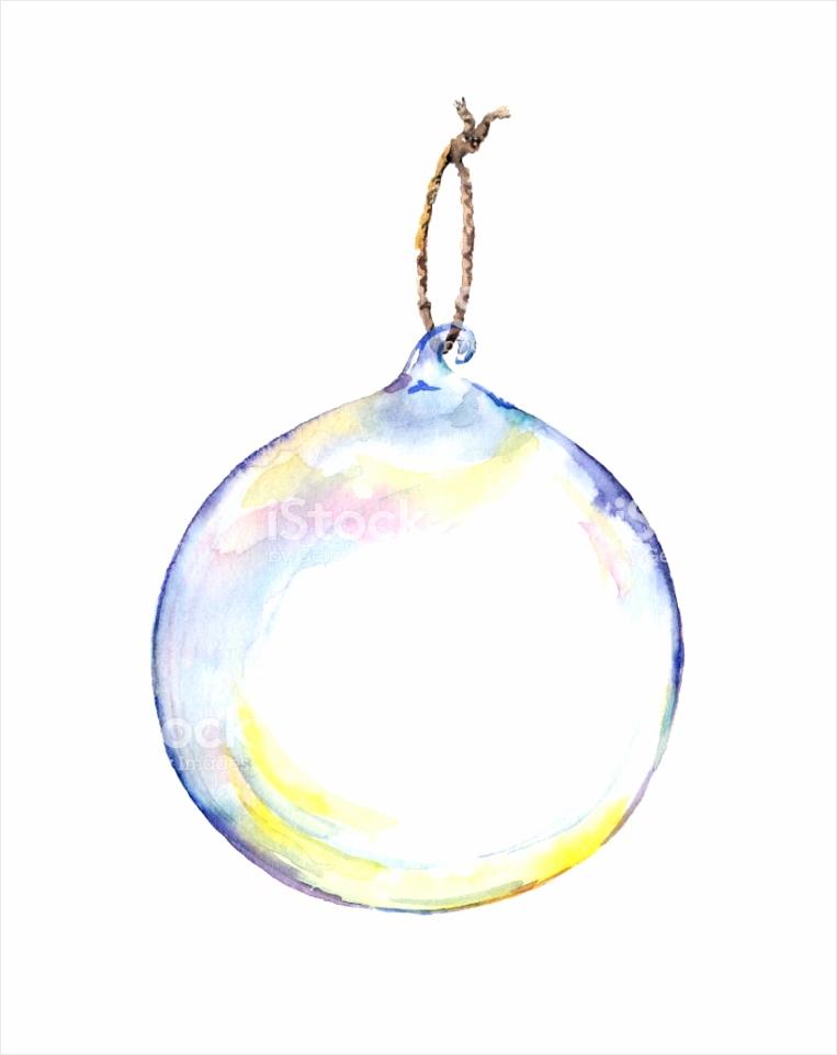 decoratieve kerstbal transparant glas aquarel gm ursru