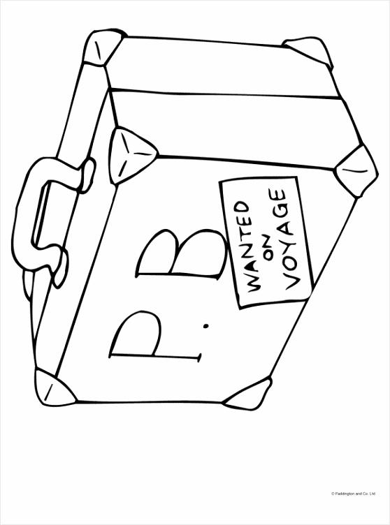 kleurplaat koffer kleurplaten234