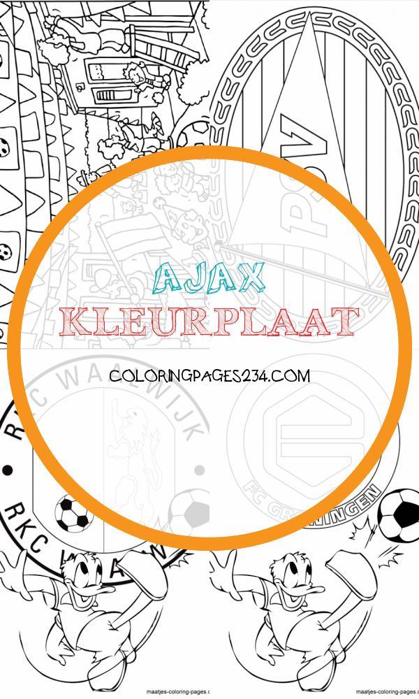 ajax kleurplaat kleurplaten234