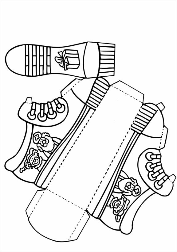 kleurplaat schoen kleurplaten234