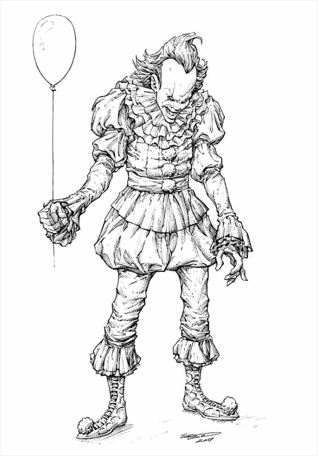 zombie clown coloring pages 54 best horror kleurplaten images on pinterest coloring pages clown coloring zombie rtrto