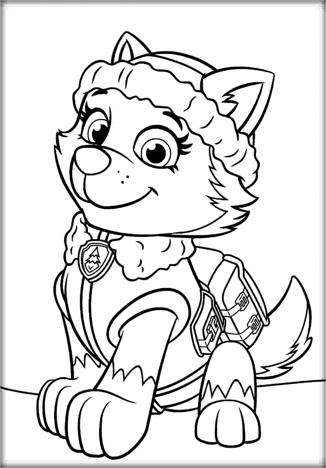 paw patrol coloring page 01 coloring page central 3 iuuui