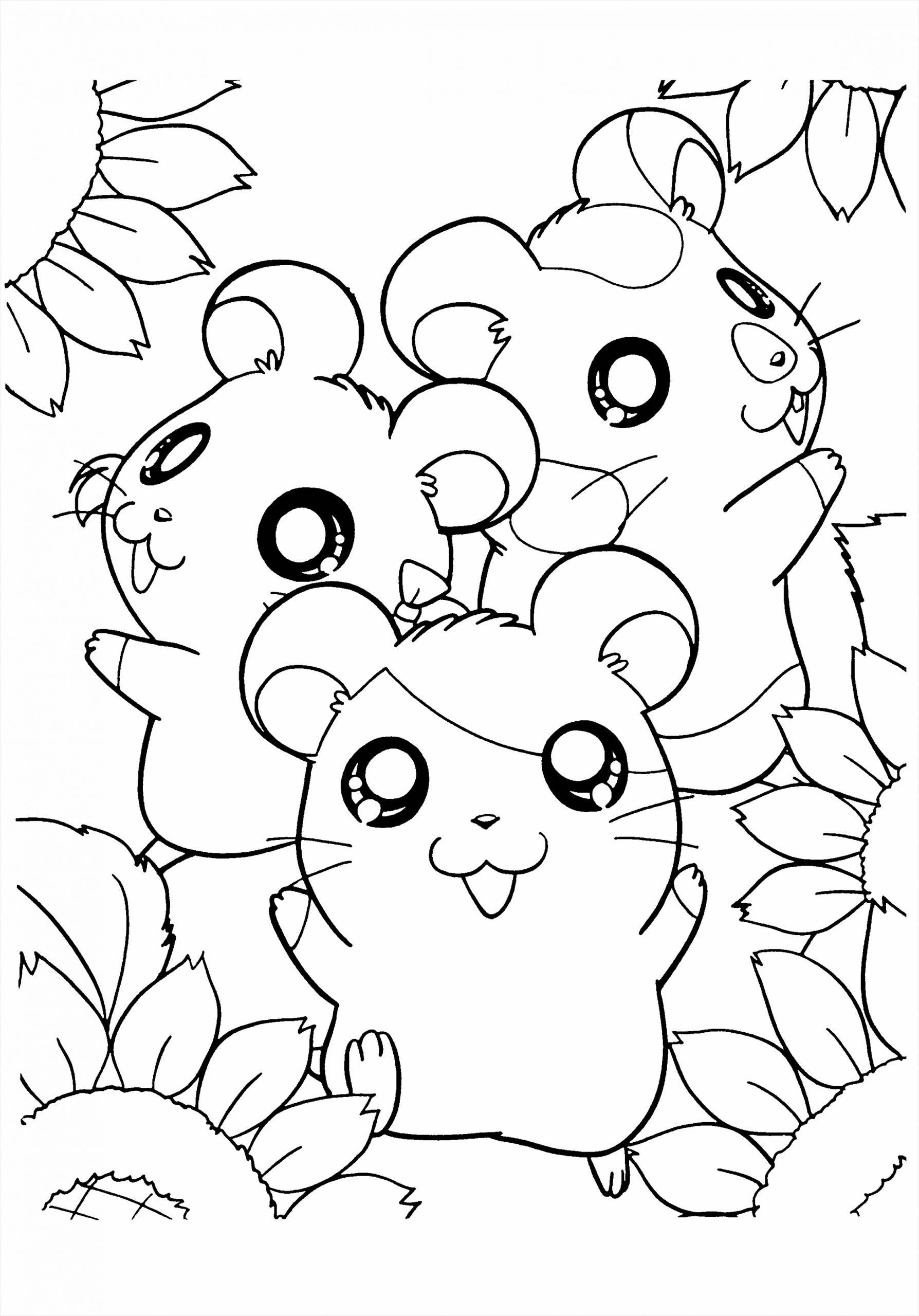 Cute Girl Hamster Coloring Pages az hamtaro coloring pages coloring home Pages Girl Cute Coloring Hamster optyu