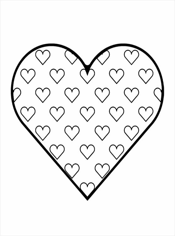 kleurplaat groot hart coloringpages234