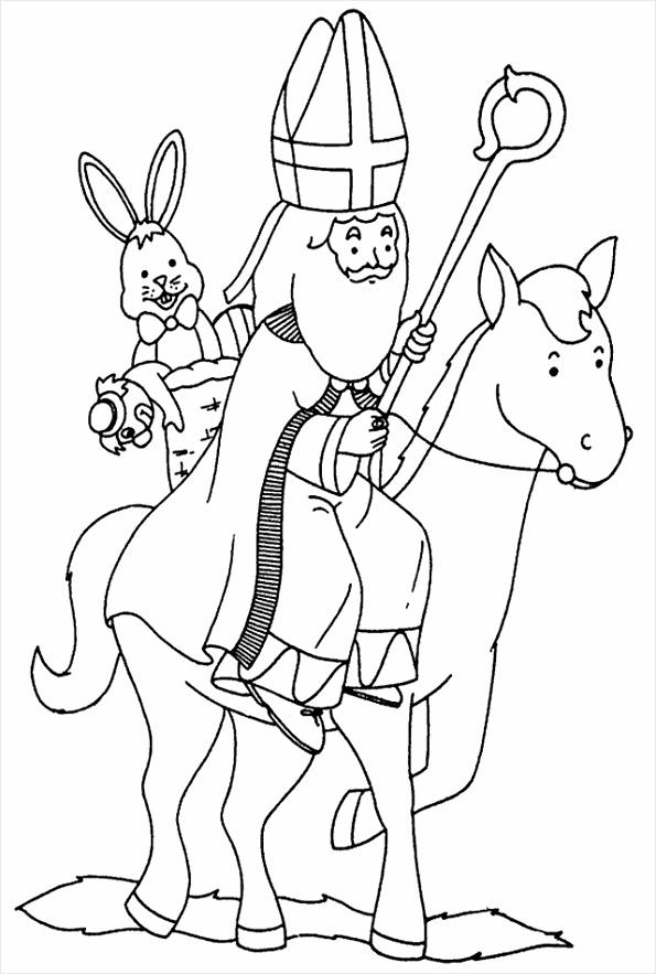 Sinterklaas » Kleurplaten Zo En Van A4j5RL3 9 uqsl pd ariit
