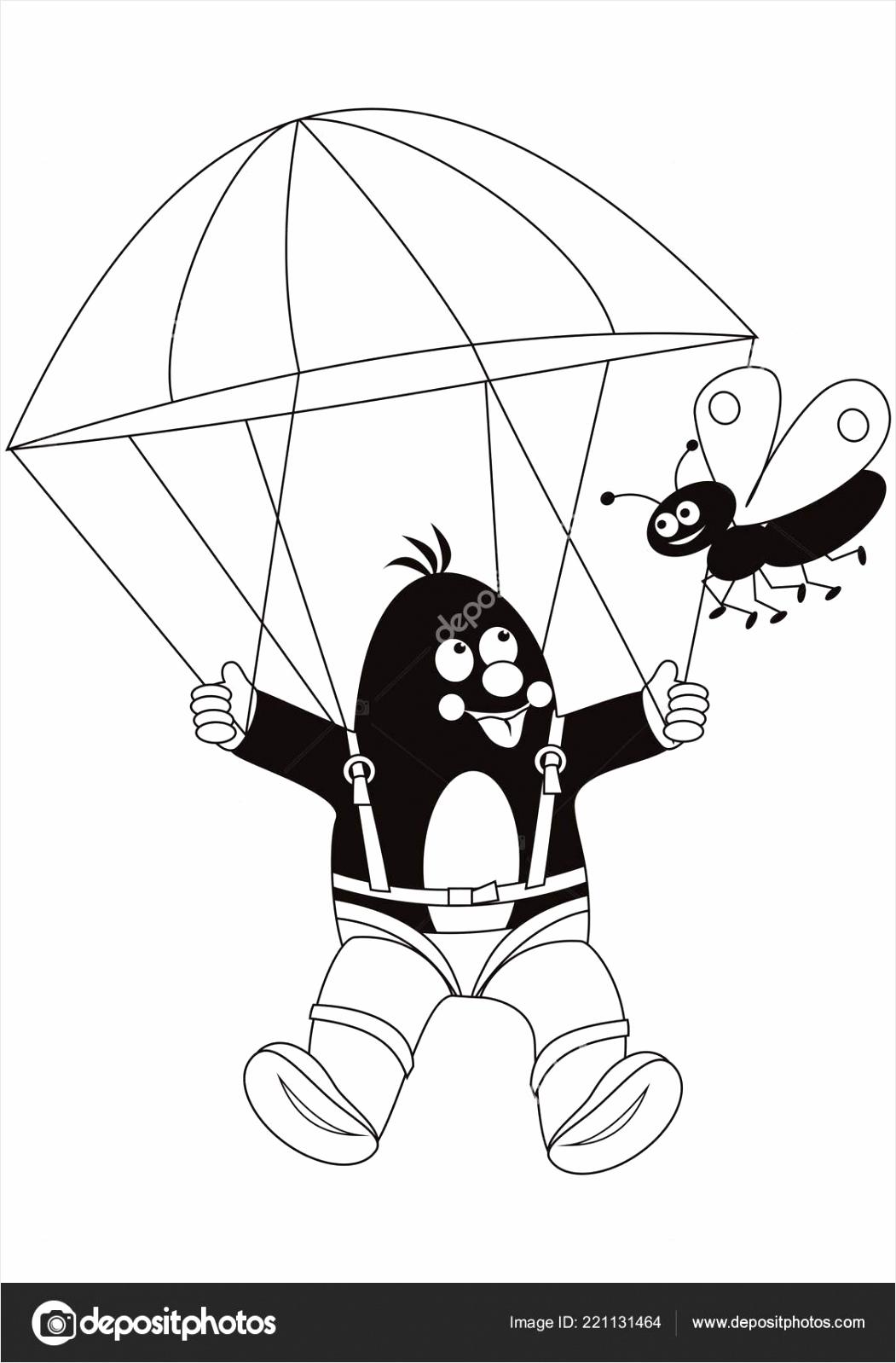 depositphotos stock illustration mole parachutist coloring book vector weirp
