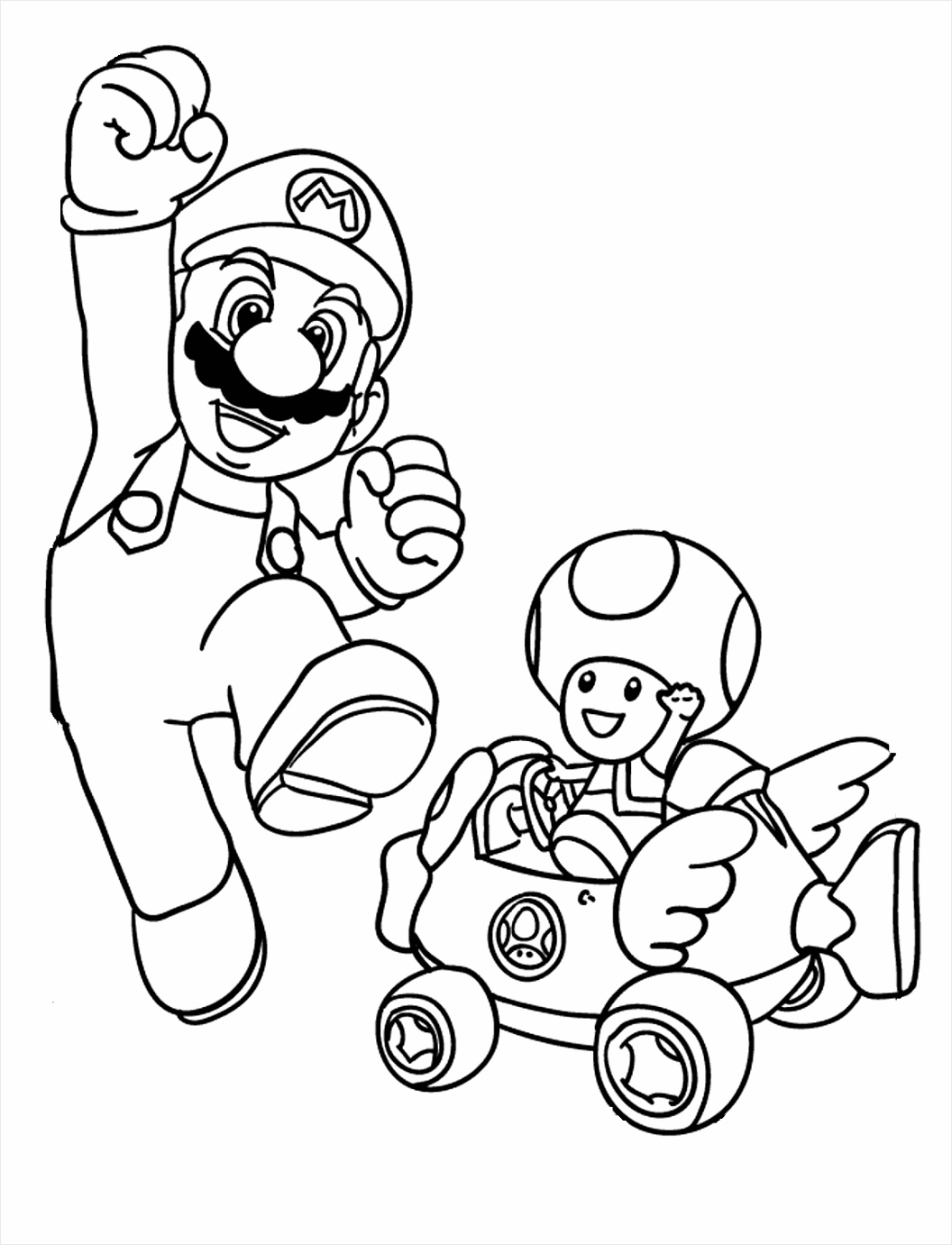 mario kart characters coloring pages free printable mario kart coloring pages for kids cool2bkids kart mario coloring pages characters uakjy