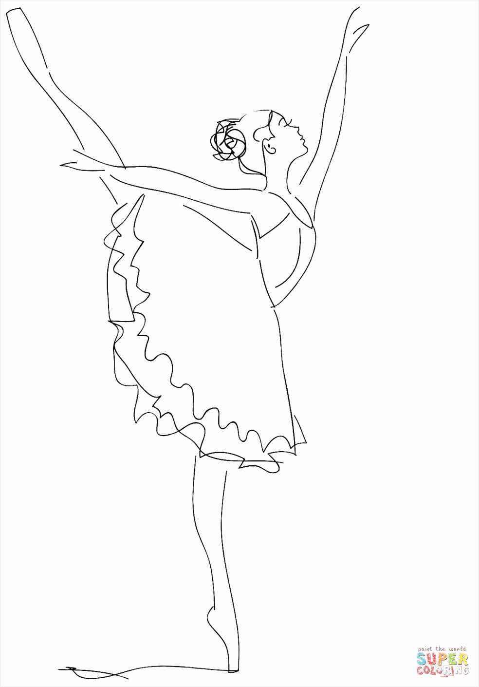 ballerina coloring page yiyyw