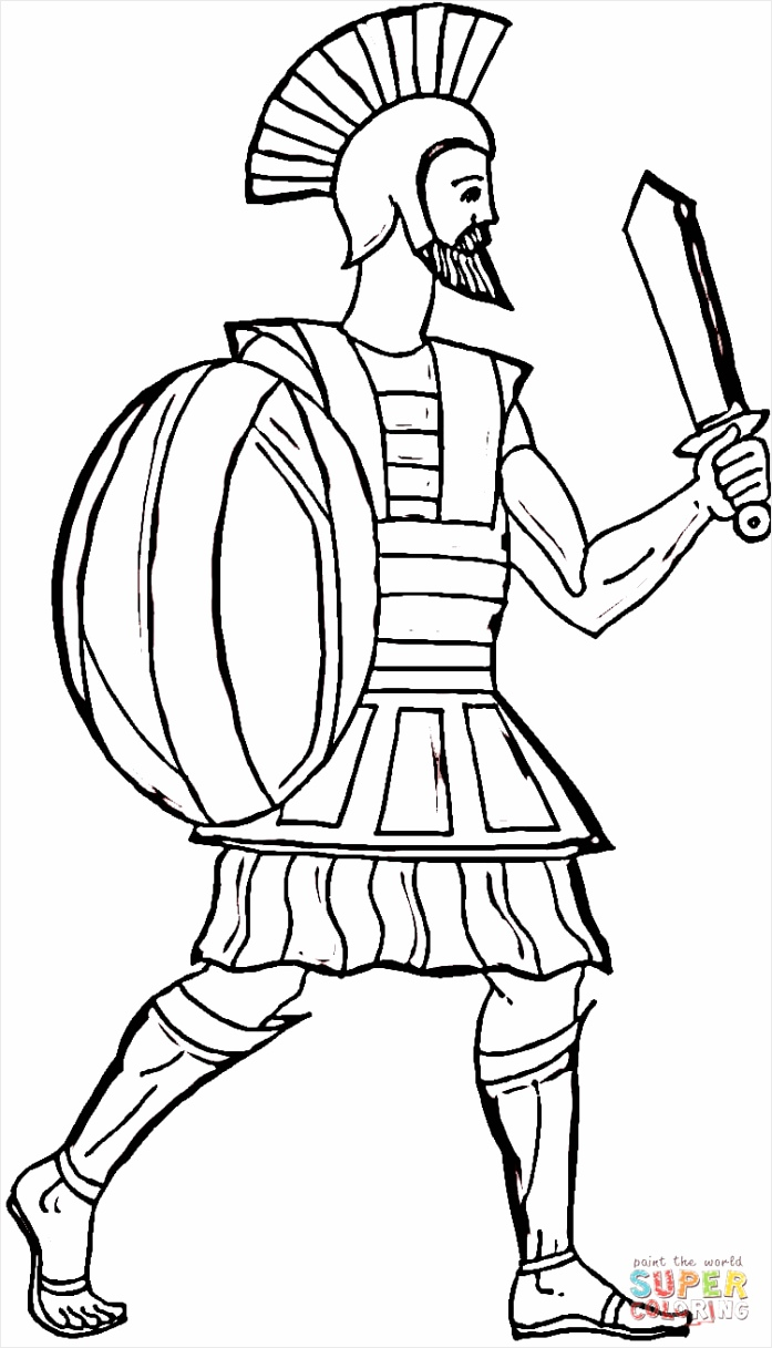 odysseus coloring page wetup