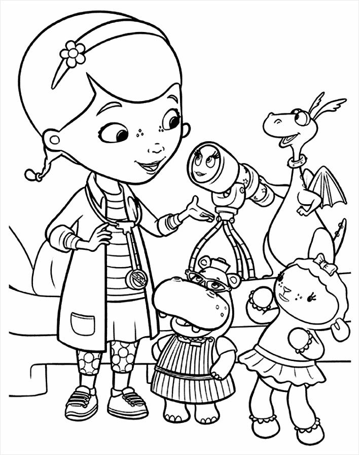 doc mcstuffins coloring page 0020 q4 eitoi