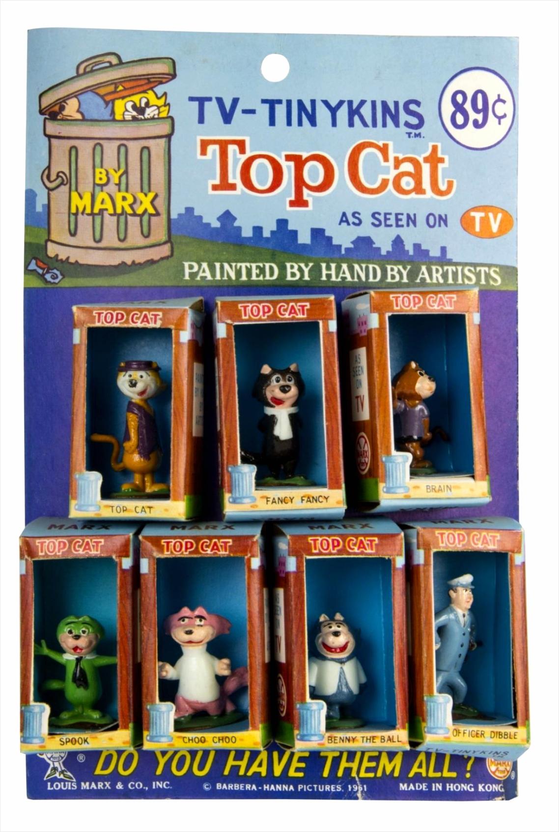 Top Cat TV Tinykins Store Display i ttuiw