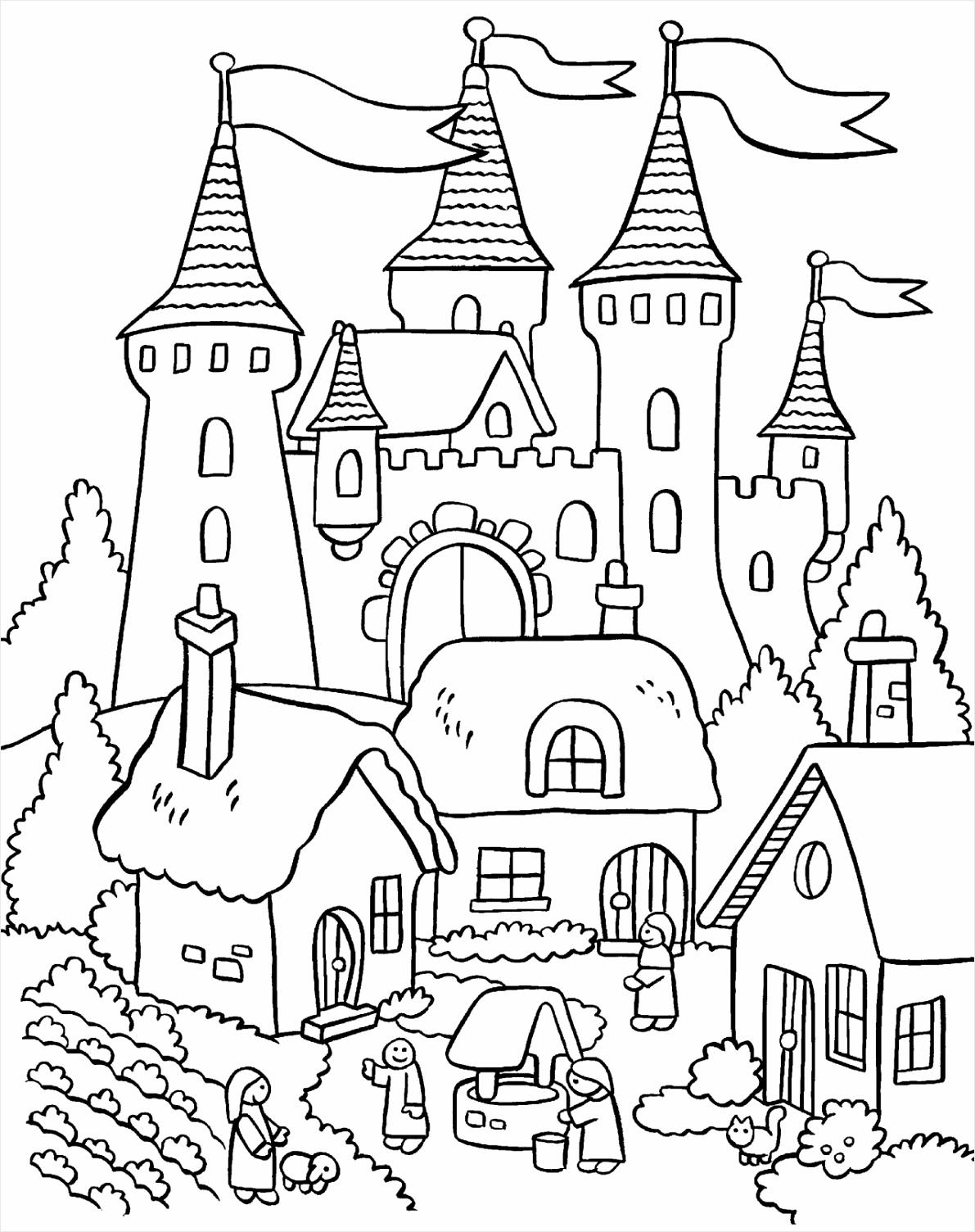 kleurplaat prinses kasteel kleurplaten234 kleurplaten234