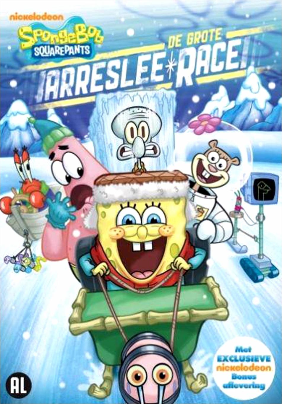 spongebob de grote arreslee race dvd wiabw