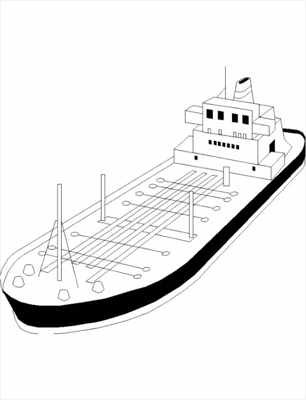 verkeer kleurplaat vrachtschip iyrwi