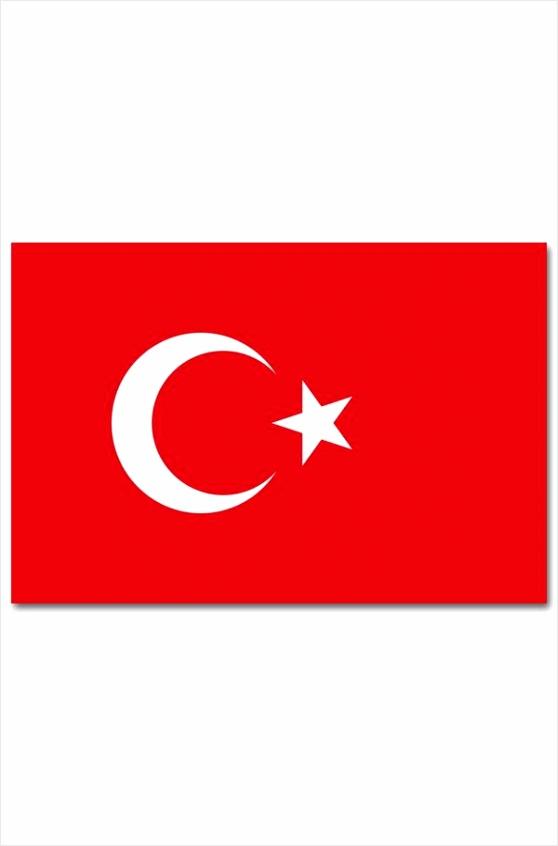 vlag turkije 90 x 150cm rdyru