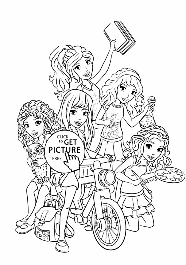 marvelous lego friends coloring pages all page ninjago city years olds 672x942 rrwet