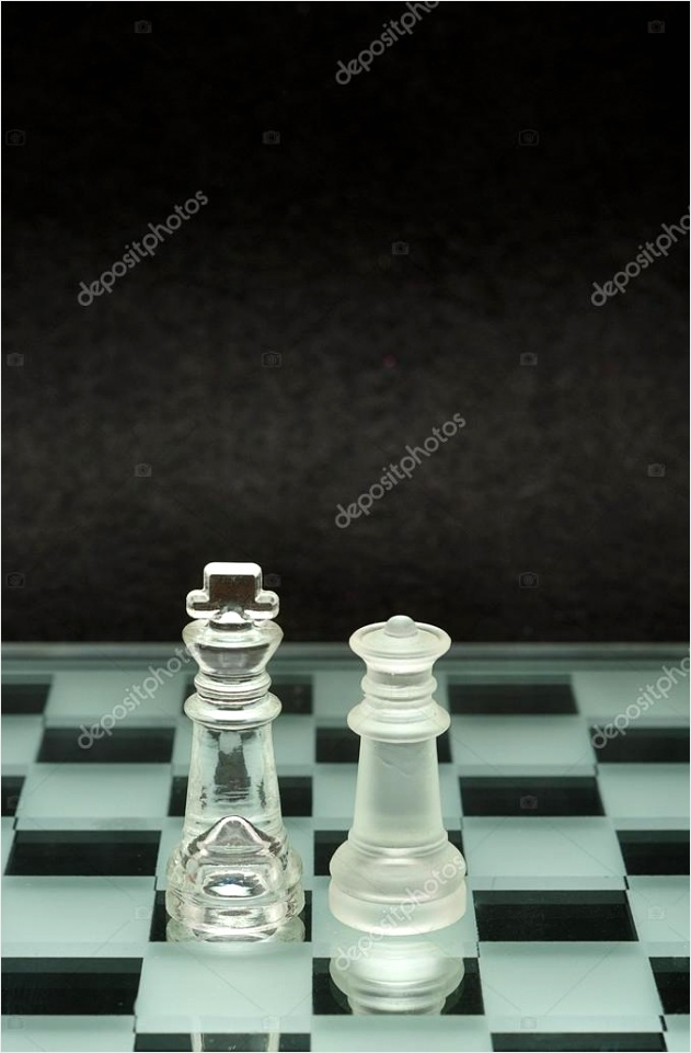 depositphotos stock photo a king and queen chess arwpu