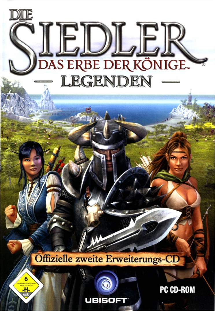the settlers heritage of kings legends expansion disc windows front cover uopye