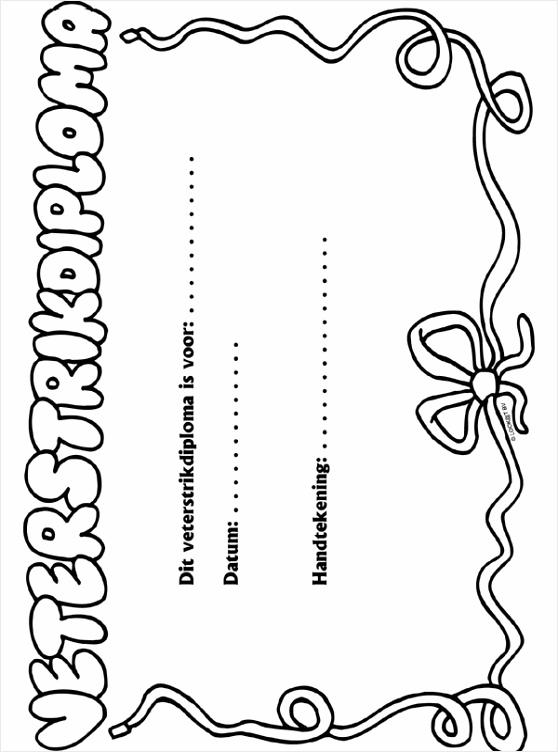 kleurplaat diploma kleurplaten234