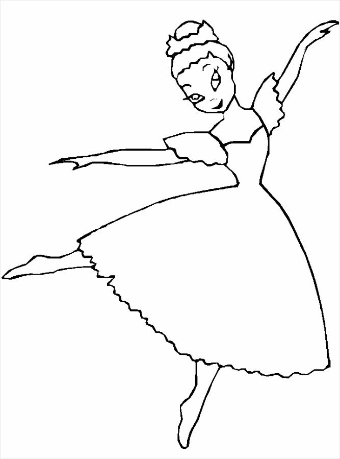 kleurplaat balletdanseres coloringpages234