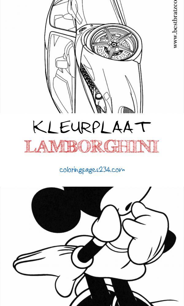 Free Printable Ferrari Coloring Pages For Kids kleurplaat lamborghini, source:pinterest.cl