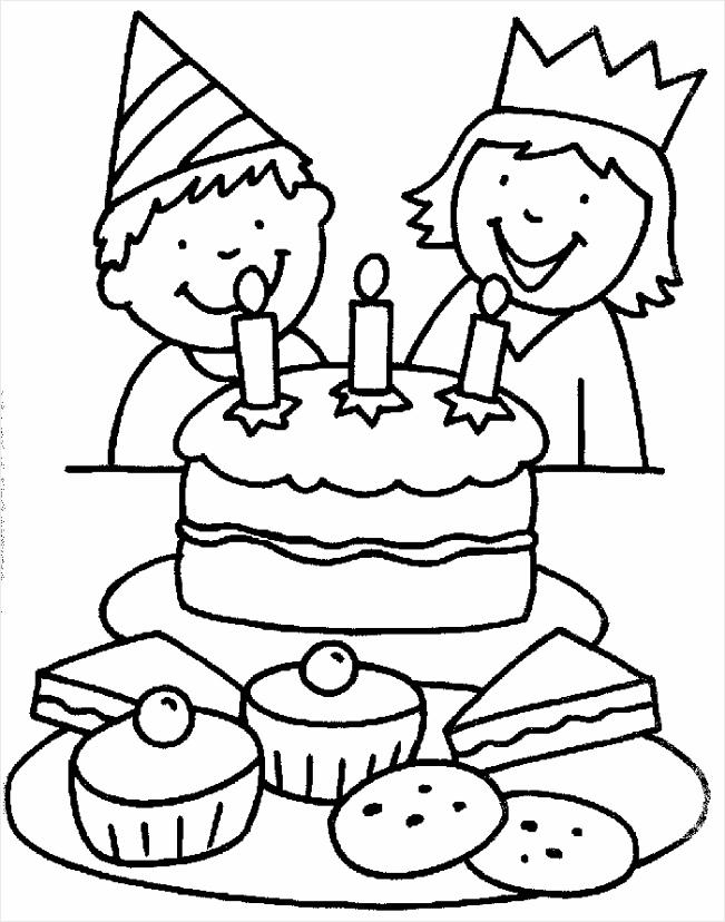 verjaardags kleurplaat kleurplaten234 kleurplaten234