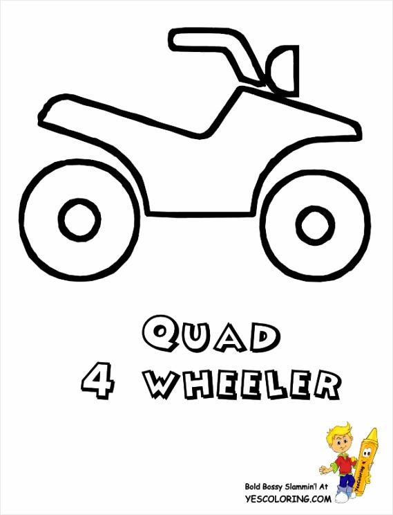 quad kleurplaat - coloringpages234
