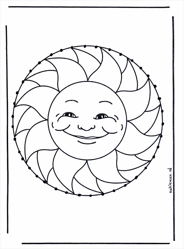 zomer borduurkaart b1233 oaywr