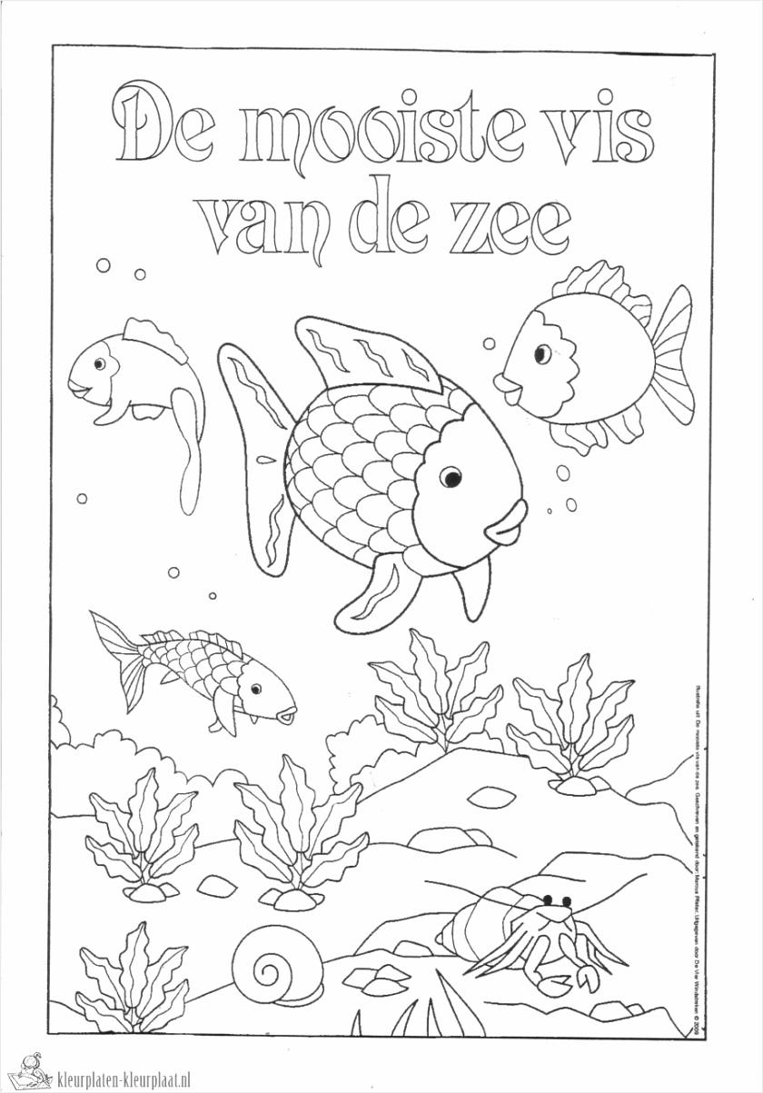 mooiste vis van de zee kleurplaat aaeii