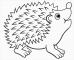 8 Ausmalbilder Tiere Igel