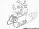 8 Ausmalbilder Weihnachtsmann Mit Rentierschlitten