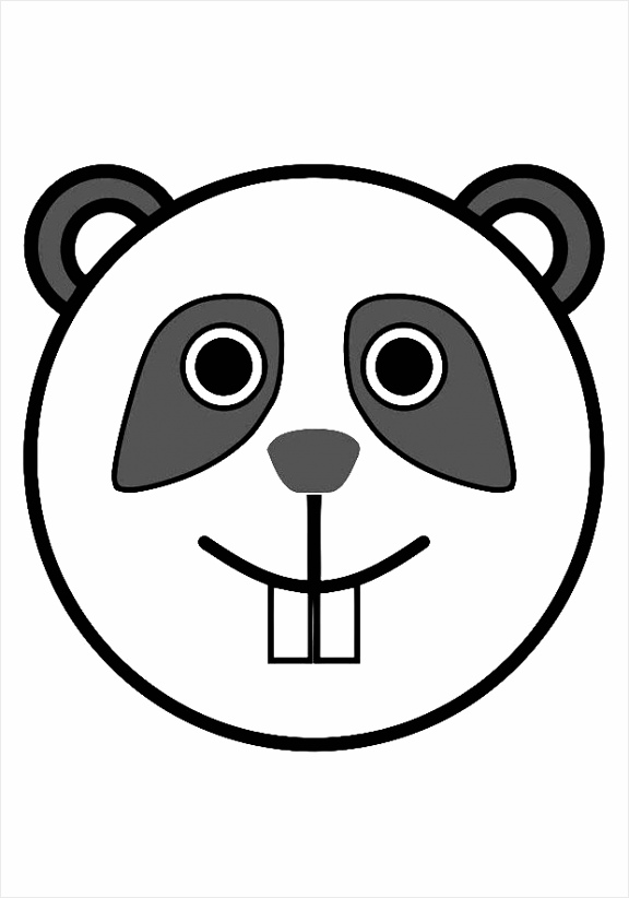 kleurplaat panda dl ioetw