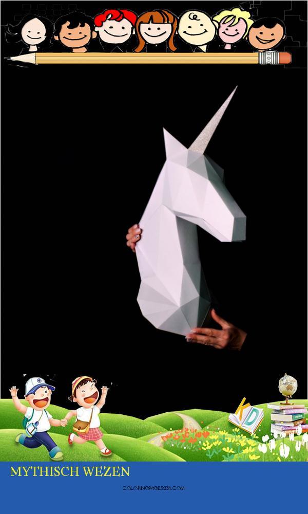 Zyhgti 68397 Kuu9oajmspoxrlett Mythisch Wezen Unicorn Een Mythisch Wezen Dat Integriteit Symboliseert 883582