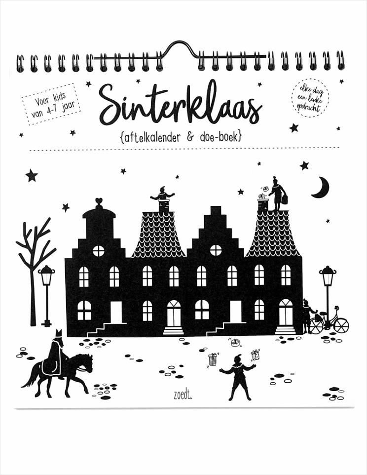 zoedt sinterklaas aftelkalender en doe boek tyiei