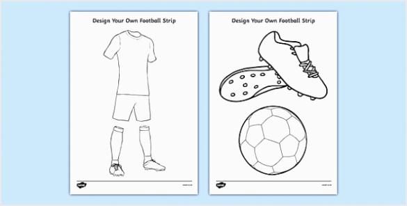 T T 076 Design a football strip ver 2 rewep