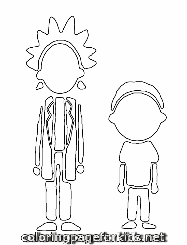 rick morty coloring pages 3 yrery