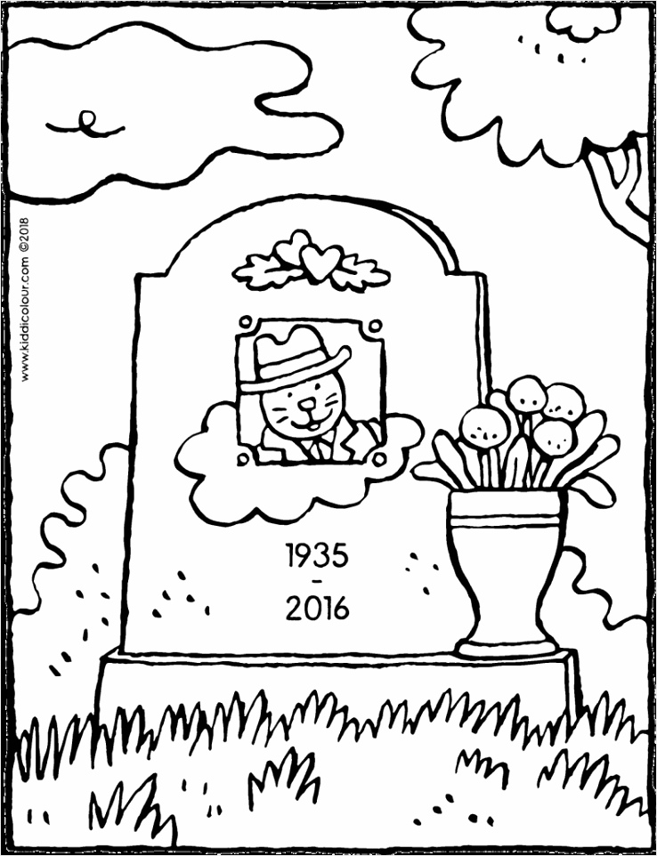 gravestone colouring page drawing picture 01V 794x1024 aeuwe