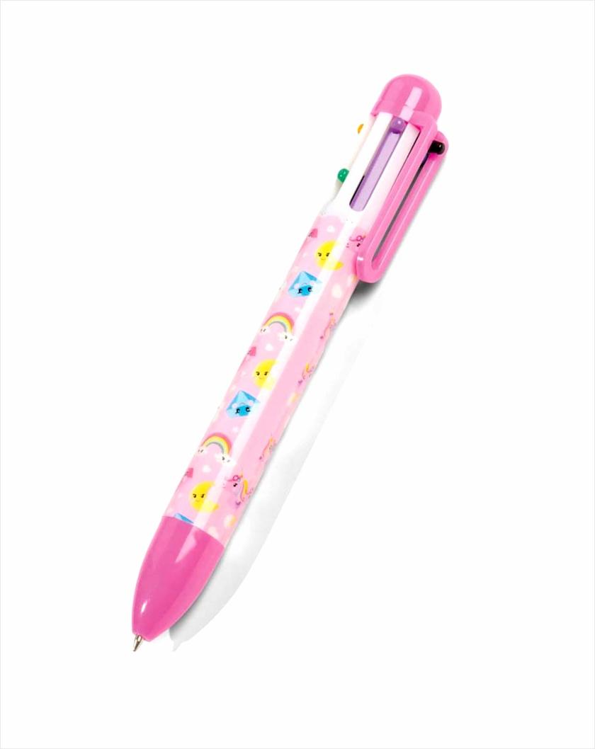 Eenhoorn meerkleuren pen yrutw