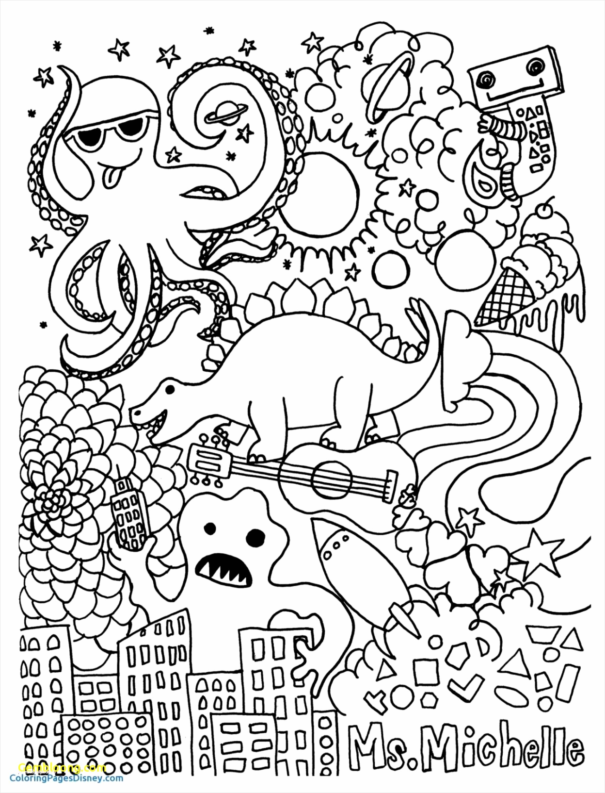printable coloring mindfulness colouring sheets free disney to print out for children pages wupei