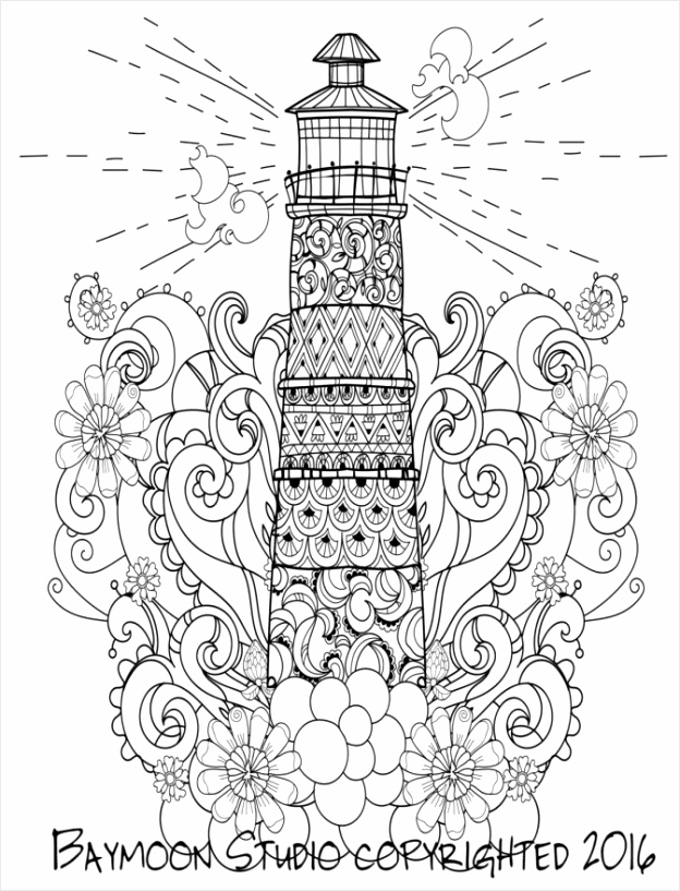 lighthouse coloring pages children around the world for kids to print free adults ipetu