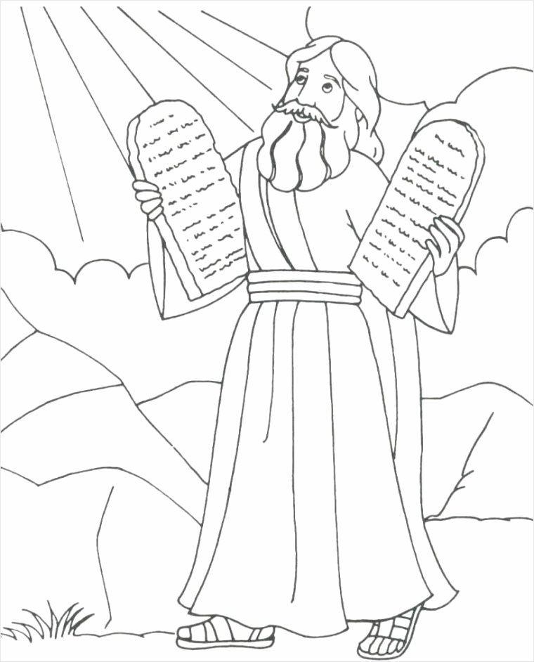 25 new ten mandments coloring pages in 2020 with images yppet