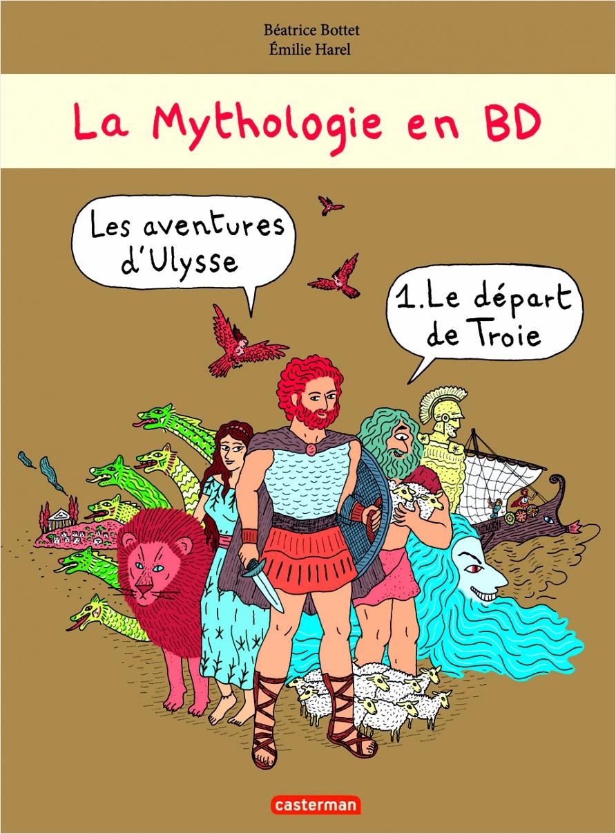 la mythologie en bd aeout