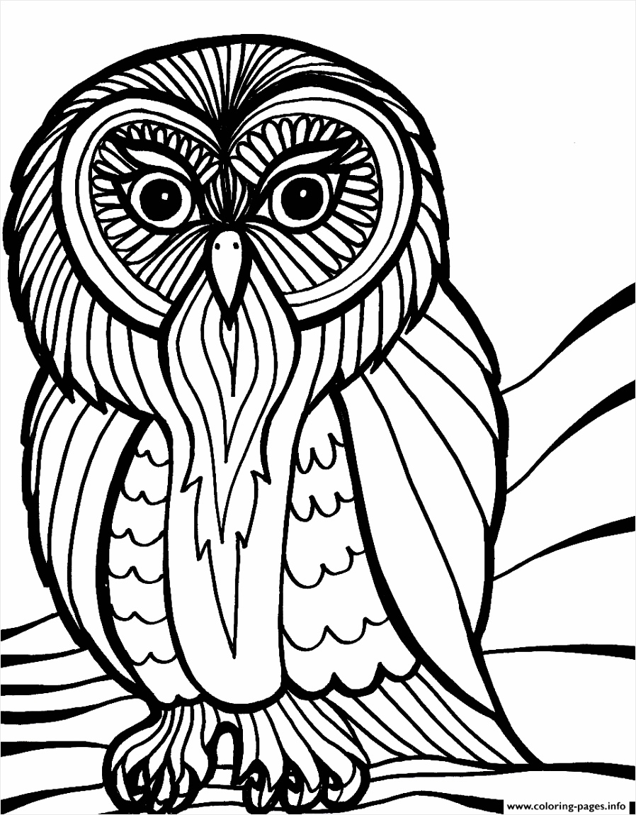 scary halloween owl s8616 printable coloring pages book 6244 wrswt