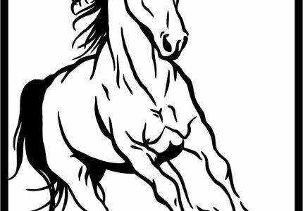 Horses For Coloring Astonishing Picture Ideas Sheet Color Me Horse Picture To Color, source:approachingtheelephant.com
